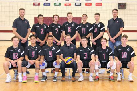 Men's Volleyball Team Photo