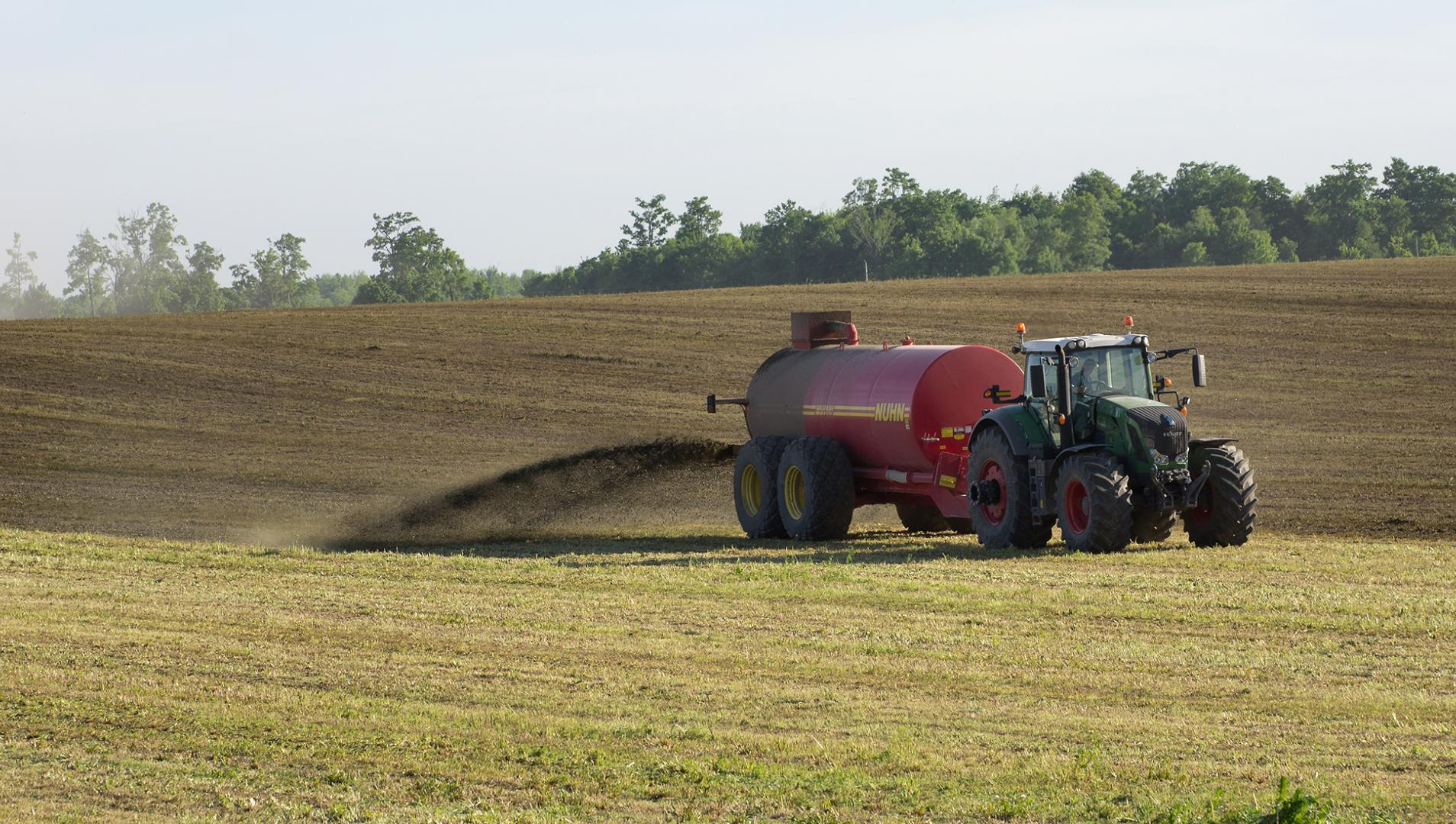 commercial manure application