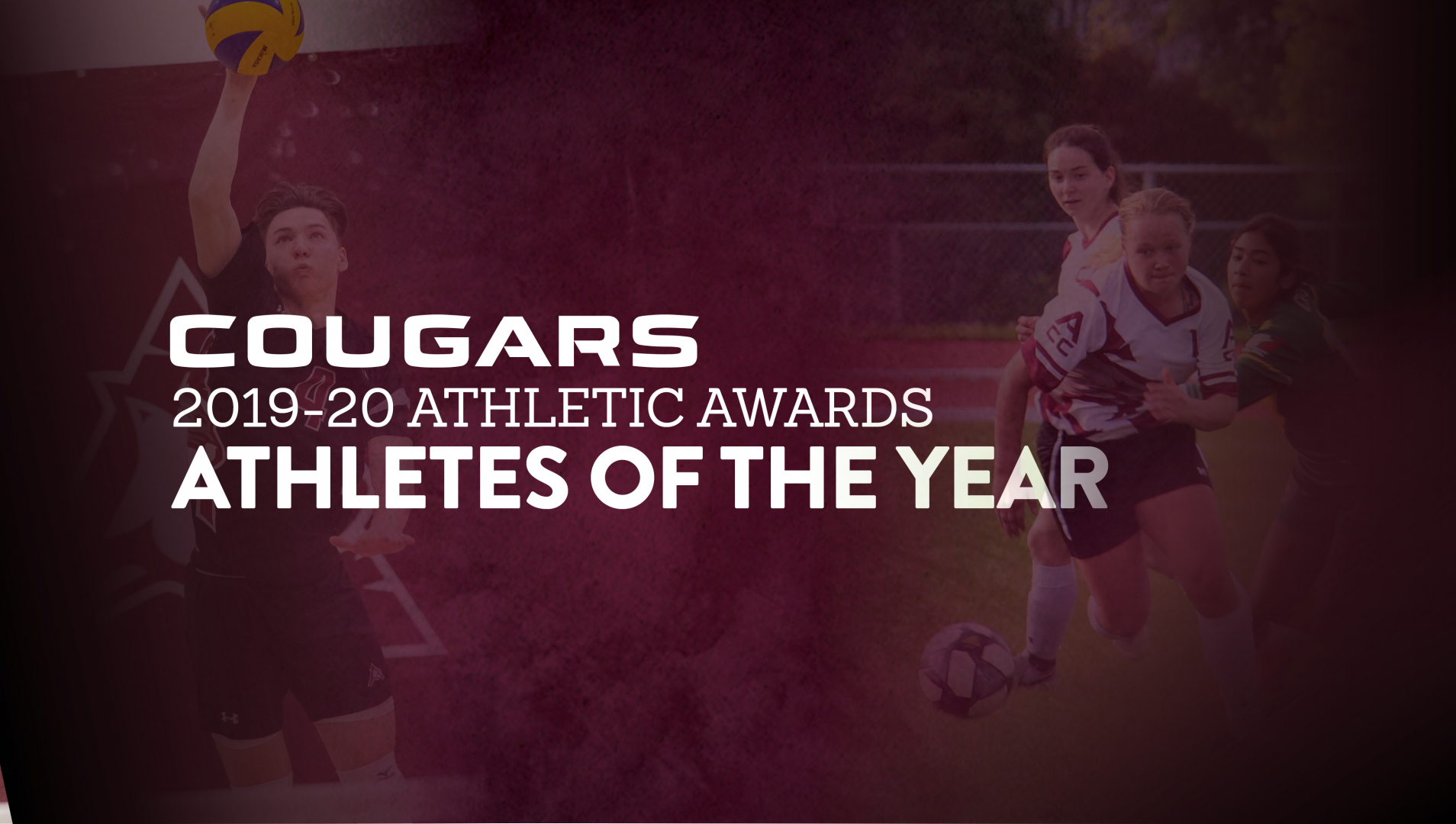 Cougars' Athletes of the Year