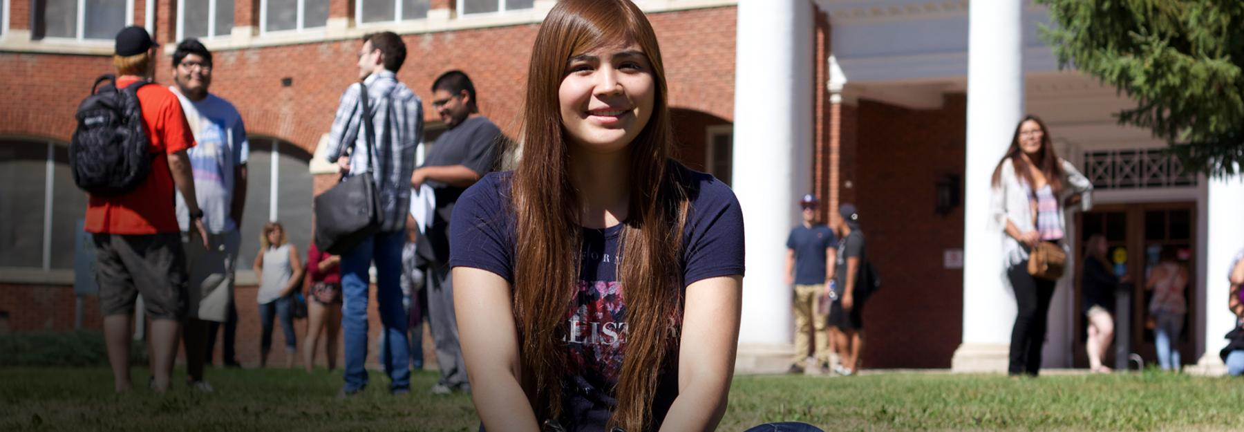 International Student at the North Hill Campus