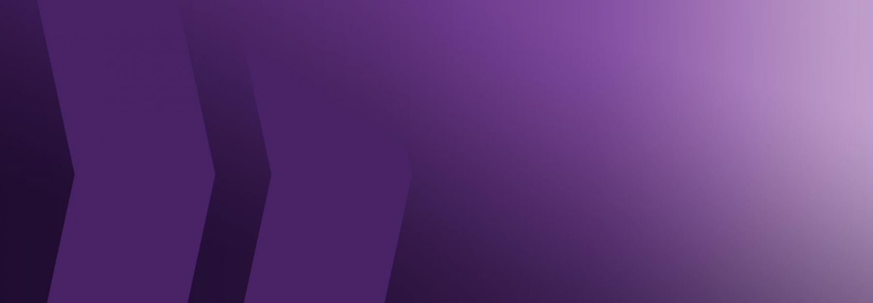 purple wash banner